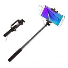 Мини селфи стик / Mini Selfie Stick Handheld Monopod - черен