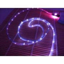 USB кабел за Apple iPhone 5 / iPhone 5S / iPhone 5C / iPhone 6 - светещ / усмихнато лице