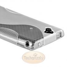 Силиконов калъф / гръб / ТПУ S-line за Sony Ericsson Xperia Arc X12 / Arc S - прозрачен