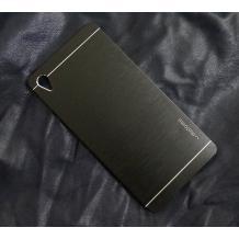 Луксозен твърд гръб MOTOMO за Sony Xperia Z1 L39h - черен