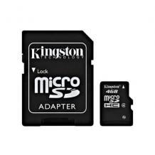 Micro SD 4 GB Kingston
