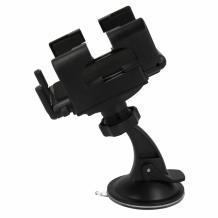 Универсална стойка за кола с късо рамо въртяща се на 360 градуса за Samsung, LG, HTC, Sony, Nokia, Huawei, ZTE, Apple, BlackBerry и други