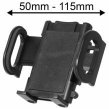 Универсална стойка за кола за Samsung, LG, HTC, Sony, Nokia, Huawei, ZTE, Apple, BlackBerry и други - с късо рамо въртяща се на 360 градуса