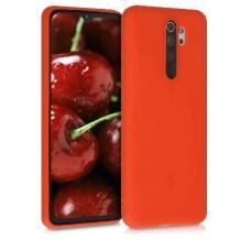 Луксозен силиконов калъф / гръб / Nano TPU за Xiaomi Redmi Note 8 Pro - оранжев
