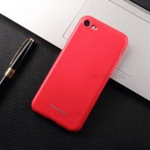 Силиконов калъф / гръб / Molan Cano Glossy Jelly Case за Apple iPhone 7 / iPhone 8 - розов / гланц / брокат