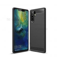 Силиконов калъф / гръб / TPU за Samsung Galaxy Note 10 N975 - черен / carbon