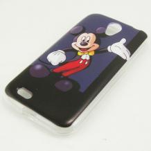 Силиконов калъф / гръб / TPU за Lenovo A859 - Mickey Mouse
