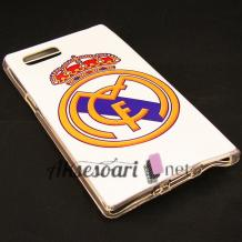 Силиконов калъф / гръб / TPU за Lenovo K920 Vibe Z2 Pro - FC Real Madrid