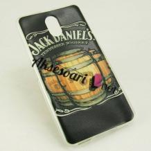 Силиконов калъф / гръб / TPU за Lenovo Vibe P1m - Jack Daniels