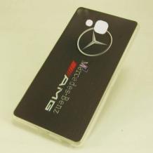 Силиконов калъф / гръб / TPU за Microsoft Lumia 650 - AMG / Mercedes - Benz