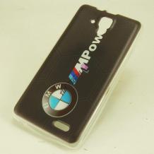 Силиконов калъф / гръб / TPU за Lenovo Vibe X3 Lite / K4 Note / Lenovo A7010 - BMW / MPower
