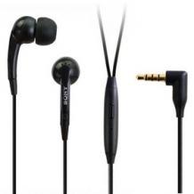 Оригинални стерео слушалки (handsfree) за Sony 3,5мм - черни