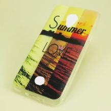 Силиконов калъф / гръб / TPU за Acer Liquid Zest Z525 / Z528 - Summer Love