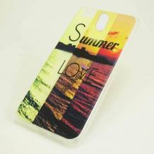Силиконов калъф / гръб / TPU за Lenovo Vibe C2 - Summer Love