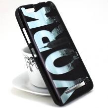 Силиконов калъф / гръб / TPU за Asus Zenfone Max Plus ZB570TL - черен / New York