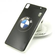 Силиконов калъф / гръб / TPU за Lenovo A7000 / K3 Note - BMW / черен