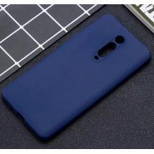 Силиконов калъф / гръб / TPU за Xiaomi Mi 9T - тъмно син / мат