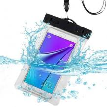 Универсален водоустойчив калъф Waterproof за мобилен телефон  / прозрачен