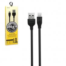 Оригинален USB кабел REMAX Proda PD-B15M Micro USB Fast Charging Data Cable / 1.0м - черен