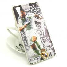 Силиконов калъф / гръб / TPU за Lenovo A6000 / A6010 - Cristiano Ronaldo / Real Madrid