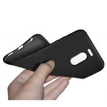 Силиконов калъф / гръб / TPU за Meizu M6 Note - черен / мат