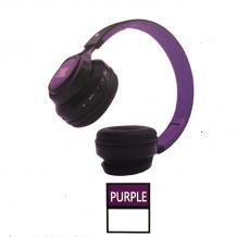 Стерео слушалки Bluetooth / Wireless Headphones / безжични слушалки JBL S110 - черно с лилаво