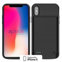 Заден капак / твърд гръб / батерия за Apple iPhone X - 3200mAh / черна