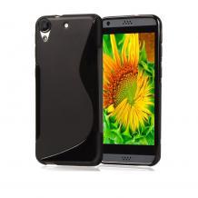 Силиконов калъф / гръб / TPU S-Line за HTC Desire 828 - черен