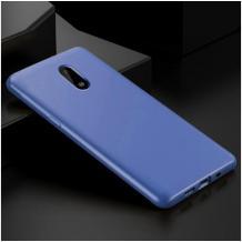 Силиконов калъф / гръб / TPU за Nokia 2.2 - син / мат