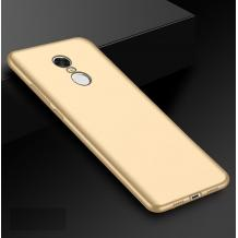 Силиконов калъф / гръб / TPU за Xiaomi Redmi 5 - златист