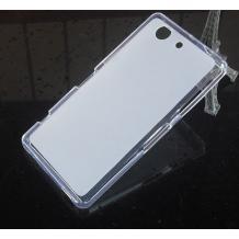 Силиконов калъф / гръб / TPU за Sony Xperia Z3 Compact / Z3 Mini - прозрачен / мат