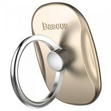 Универсална стойка за телефон / пръстен / BASEUS - златна