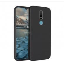 Силиконов калъф / гръб / TPU за Nokia 2.4 - черен / мат