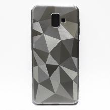Силиконов калъф / гръб / PRISM GEOMETRIC TPU за Xiaomi Pocophone F1 - сребрист / призма