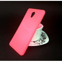 Ултра тънък силиконов калъф / гръб / TPU Ultra Thin i-Zore за Lenovo P2 - розов