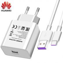 Оригинално зарядно за Huawei Mate 30 Pro / AP81 Super Charge Type-C - бяло
