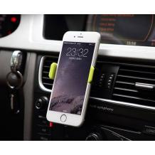Универсална стойка за кола Remax RM-C01 за Samsung, LG, HTC, Sony, Nokia, Huawei, Xiaomi, Apple, Moto, Lenovo и други - черно и жълто