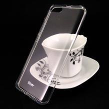 Луксозен силиконов калъф / гръб / TPU Roar All Day за Xiaomi Mi 6 / Mi6 - прозрачен