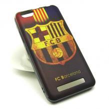 Силиконов калъф / гръб / TPU за Lenovo Vibe C / A2020 - цветен / FC Barcelona