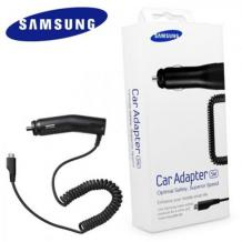 Оригинално зарядно за кола 12V Samsung ECA-U16CBEGSTD / Micro-USB - 5W