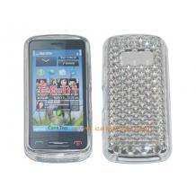 Силиконов гръб ТПУ 3D за Nokia C6-01 - бял