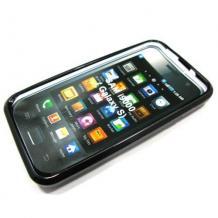 Силиконов калъф ТПУ за Samsung i9000 / i9001 Galaxy S / plus / - Черен