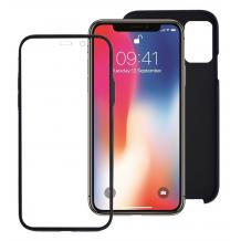 Луксозен твърд гръб 2in1 360° Full Cover за Huawei P Smart Pro 2019 - черен