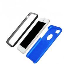 Луксозен твърд гръб Magic Skin 360° FULL за Samsung Galaxy A70 - син