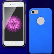 Луксозен твърд гръб Magic Skin 360° FULL за Samsung Galaxy A40 - син