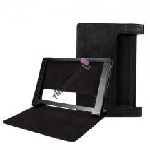 Кожен калъф за таблет LENOVO YOGA tab 3 Pro 10'' YT3-X90F - черен