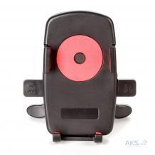 Универсална стойка за кола Easy One Touch Car Mount 360° въртяща се за Samsung, Apple, Huawei, Lenovo, LG, HTC, Sony, Nokia, ZTE, Xiaomi - черна с розово
