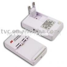 Универсално 220V зарядно устройство със USB изход за батерии Samsung, Nokia, HTC, LG