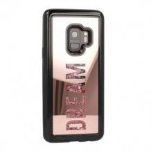 Луксозен огледален твърд гръб Vennus Dream за Samsung Galaxy S7 G930 - Rose Gold / брокат