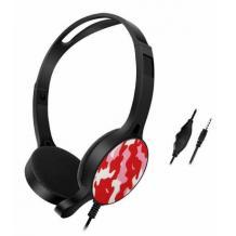 Геймърски слушалки GM-010 / Gaming Headset GM-010 - червен камуфлаж